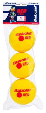 RED FOAM BALL x3, STAGE 3